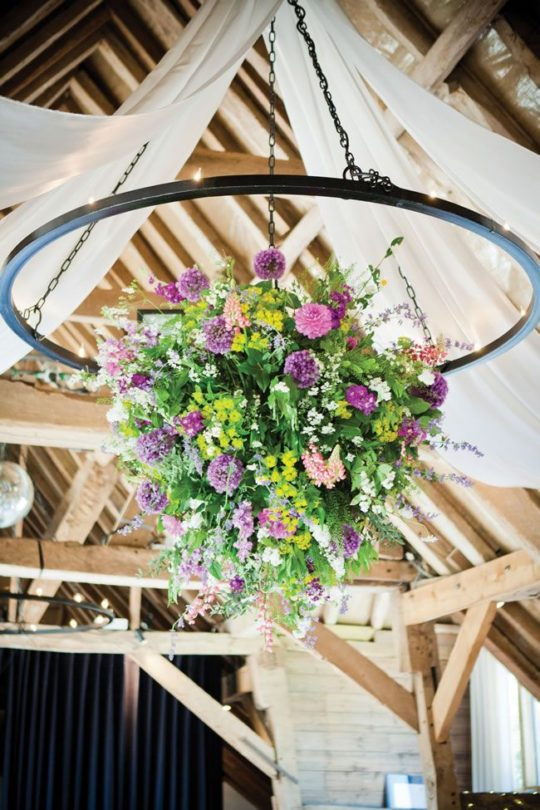 Hanging Floral Hoop, Big Day Event Tipis, Tipi wedding prices, tipi wedding packages