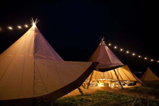 Festoon Lighting Package, Big Day Event Tipis, Tipi Wedding Packages, tipi wedding prices