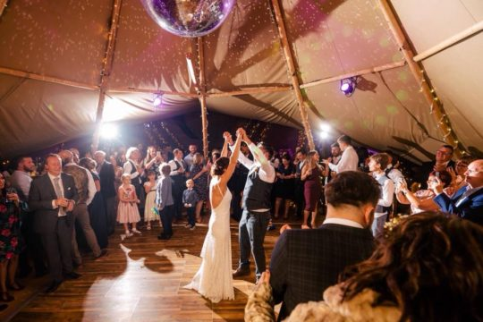 Tipi Wedding Packages Dance-floor package, Big Day Event tipis