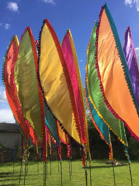 Tipi Wedding Showcase 2019 - Event Flag Hire